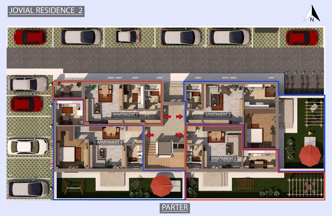 Plan etaj 0